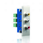 C-video + Audio Wallplate